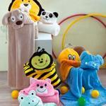 Square 150 manta infantil com capuz abelha 1507126444  m337447