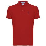 Square 150 camisa polo aleatory masculina basica vermelho inverno 2016 still