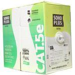 Square 150 cabo de rede cat5e sohoplus branco caixa