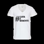 Square 150 camiseta branca curta o momento 1