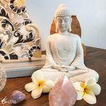 Square 150 0352 b estatua escultura buddha marmorite zen decoracao garden artesintonia brasil 1