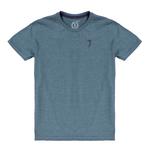 Square 150 camiseta aleatory basica infaltil kids mescla azul still